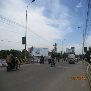 Ellis nagar bridge.