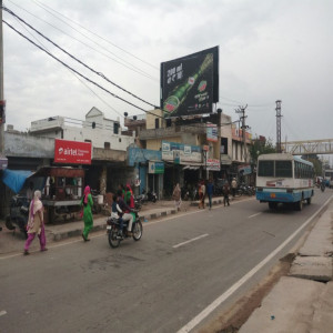 NH1, Shahbad bus stand Hoarding