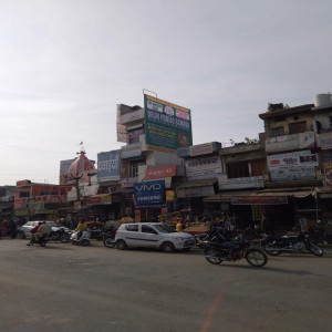 Ismailabad bus stand, Hoarding