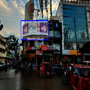 Well Maintained Big Hoarding Space at Prime Location Vijay Chowk Crossing, Golghar, Gorakhpur