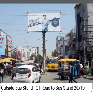 Outside Bus Stand,GT Road Bus Stand