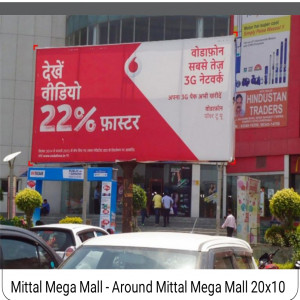 Mittal Megha Mall  Facing