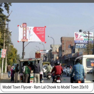 Modal Town Fly Over, Ram Lal Chock