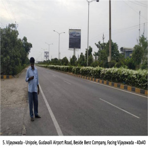 Gudavalli Airport Road, Beside Benz Company