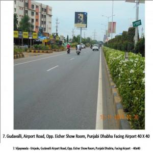 Gudavalli Airport Road, Opp. Eicher Show Room, Punjabi Dhabha