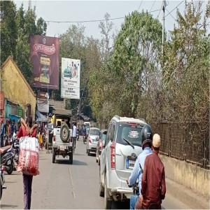 Jamshedpur Station main Road near Station Inn Gate