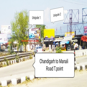 Chandigarh ,Manali Road,Baddi Entry