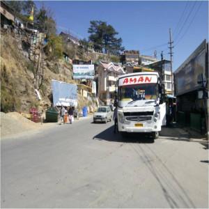 Sanjuali Bus Stop, Shimla