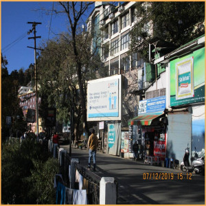 Mussorie,Mall Road, Unipole,