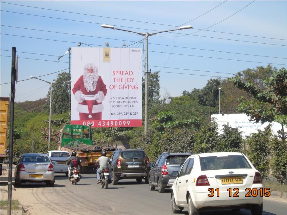 Traffic From Phoenix Opp Intel, Bangalore