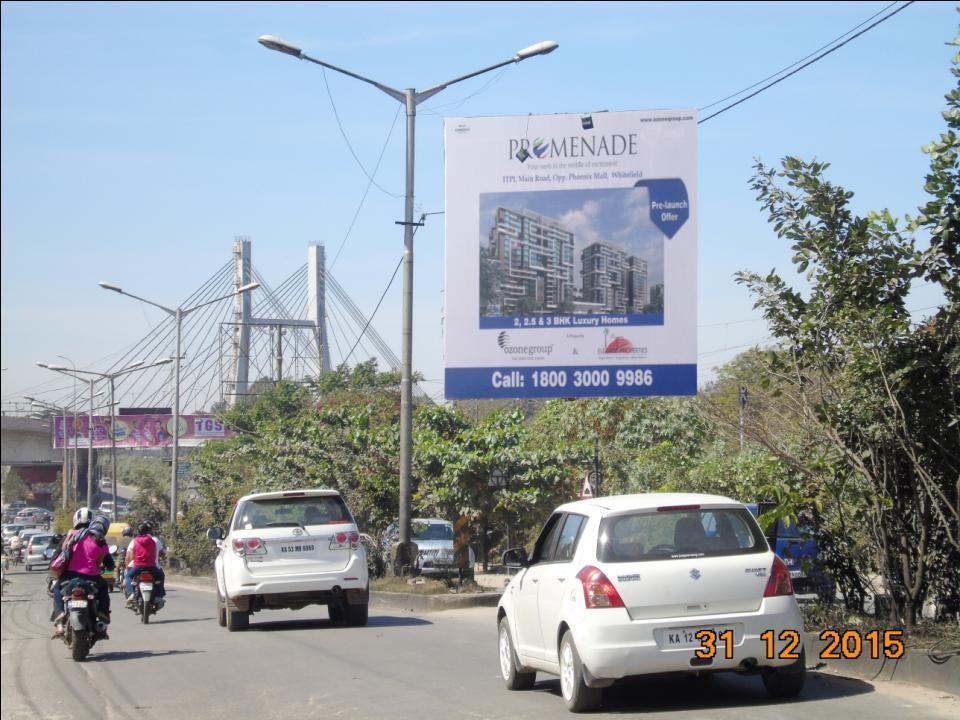 Traffic From Phoenix Opp Honda Showroom, Bangalore