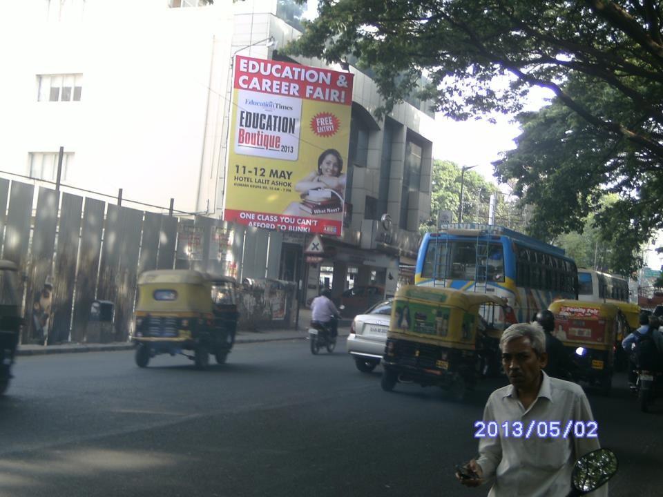 Queens Road Close to Queens Circle, Bangalore