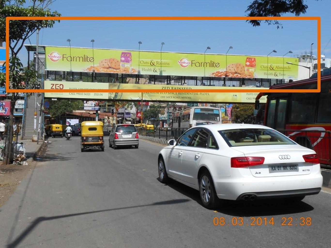 K G Road Foot Over Bridge, Bangalore