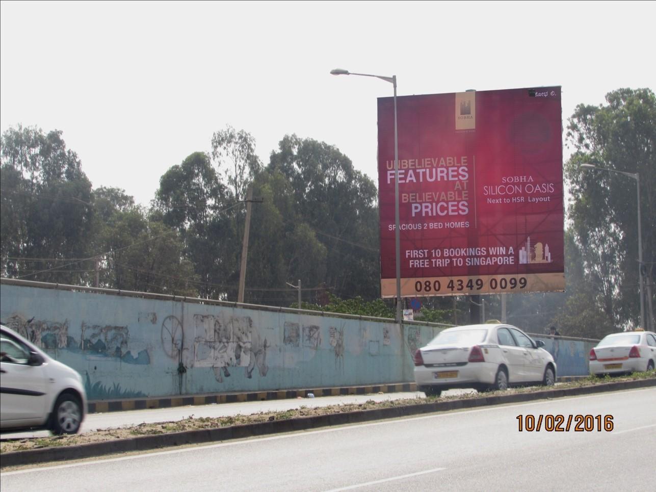 ORR from Banswadi towards KR Puram, Bangalore