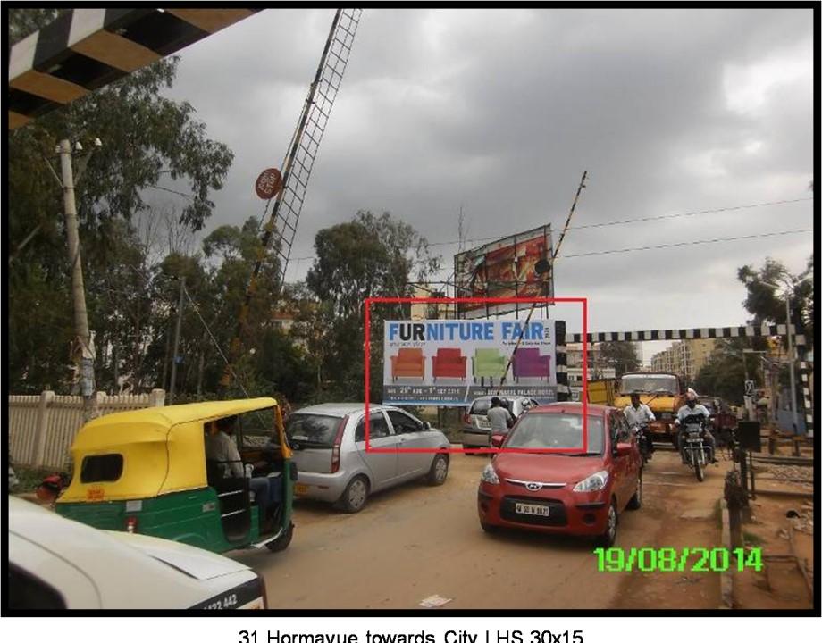 Horamavu Towards City, Bangalore