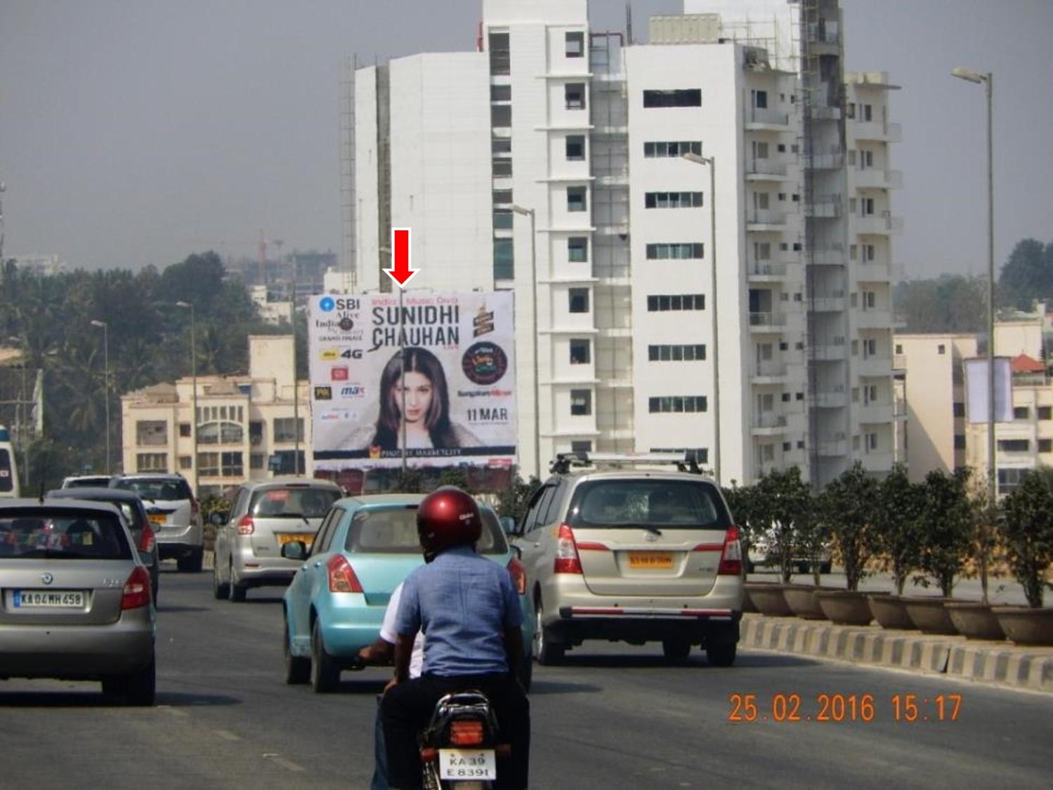 From Hebbal, Nr Sahakar Nagara, Bangalore