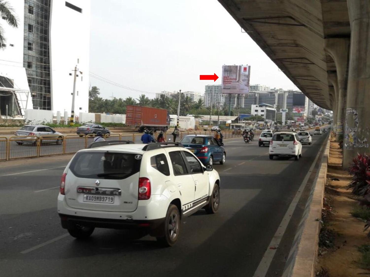 From Airport, Nr Sahakar Nagara FTT Hebbal Fly Over, Bangalore