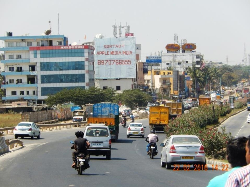 Hosur Road, From Chandapura Flyover, Bangalore