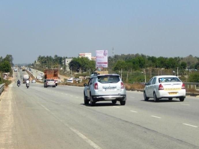 From Hebbal Towards Devanahalli, Bangalore