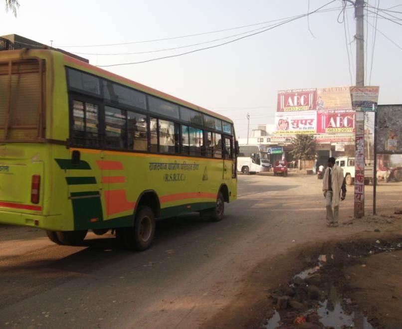 Karauli Bus Stand, Jaipur