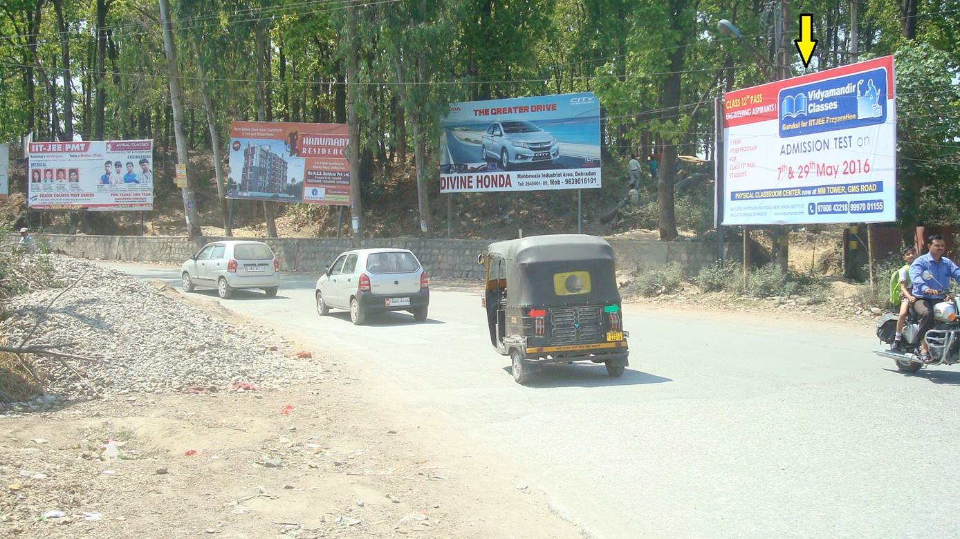 Raipur Road, near Gurudwara, Dehradun