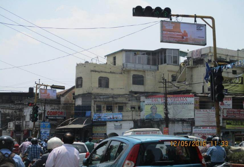 Traiff Signals at Darshan lal chowk, Dehradun
