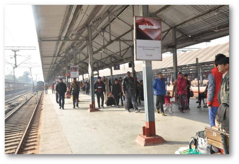 Platform No.4, Lucknow