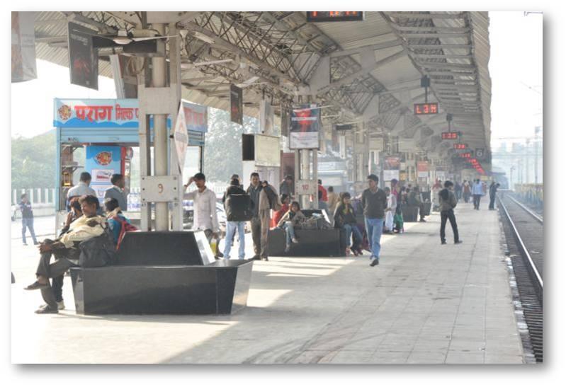 Platform No.5, Lucknow