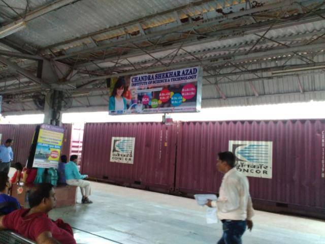 Rly Stn Platform No.7, Jhansi