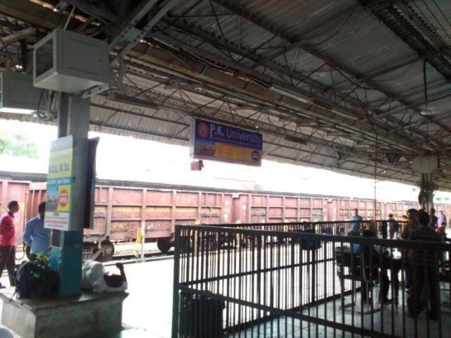 Rly Stn Platform No.8, Jhansi