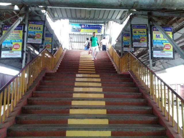 Rly Stn Platform No.6, Jhansi