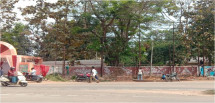 Cuttack  Station facing OMP Flyover