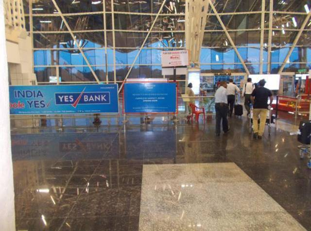 Arrival Hall Way to Exit Nr Taxi Booth, Indore