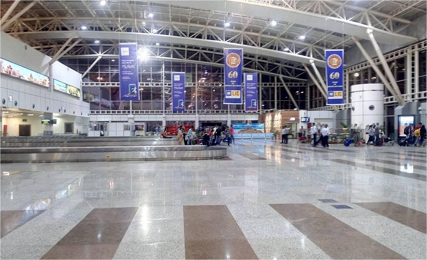 Airport Arrival, Bhubaneswar