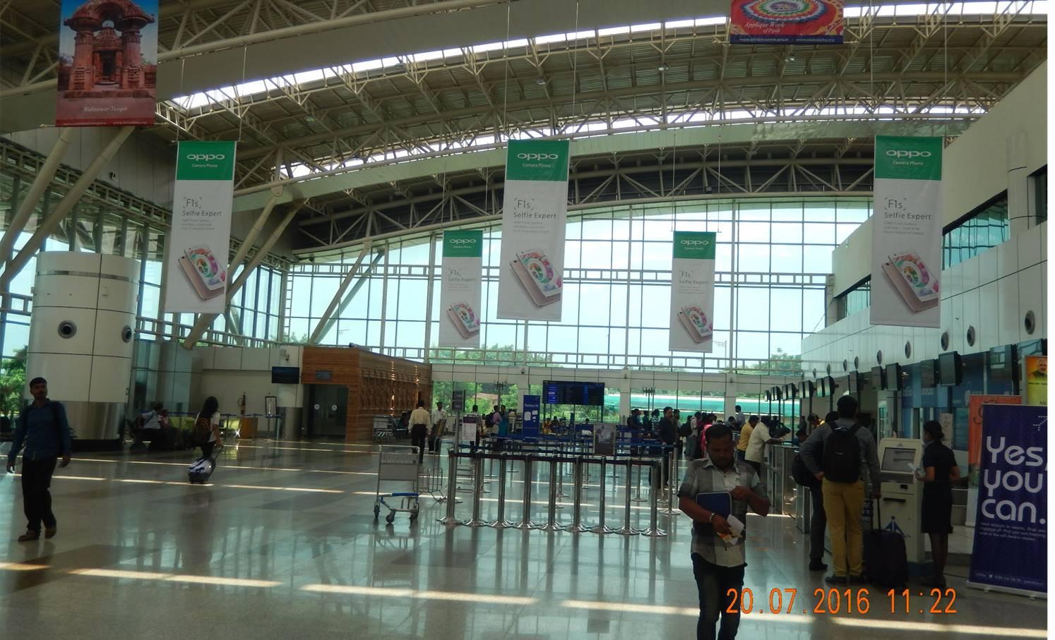 Departure Area, Bhubaneswar