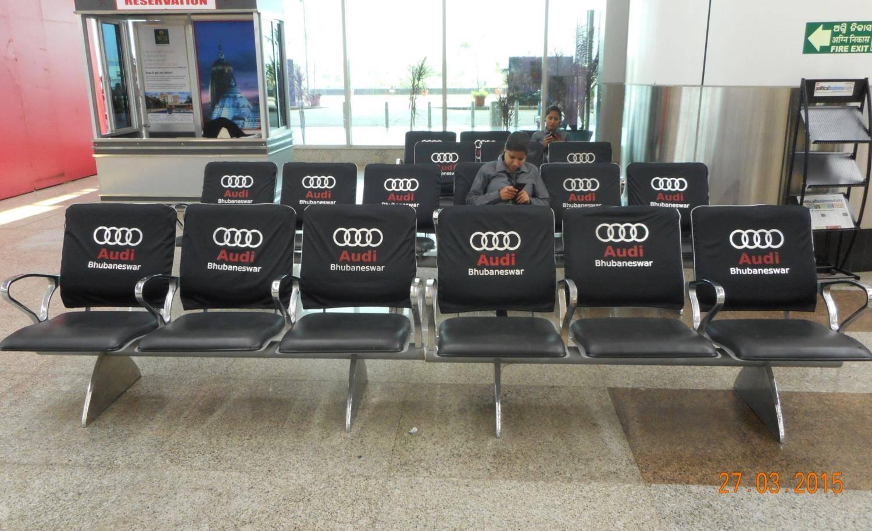 Chair branding Airport, Bhubaneswar