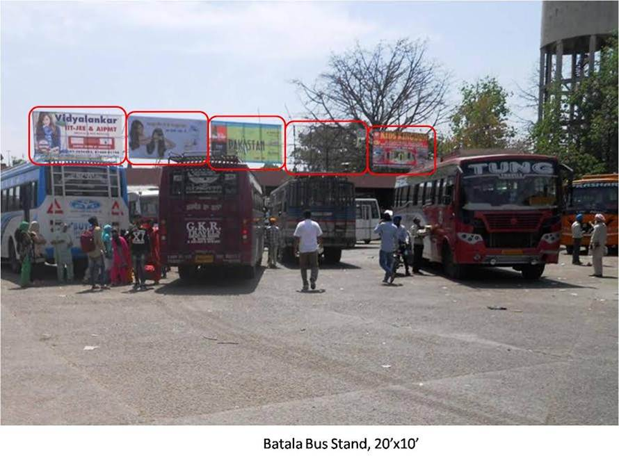 Batala Bus Stand, Batala