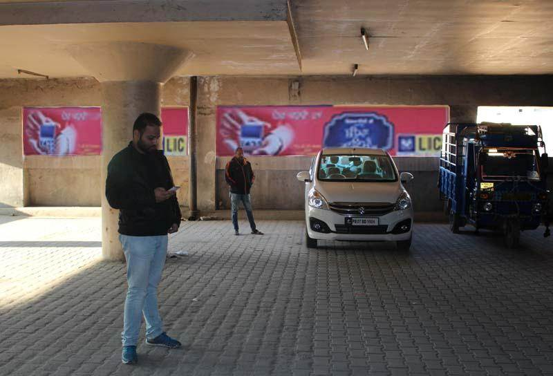 Inside Golden Temple MC Parking, Amritsar