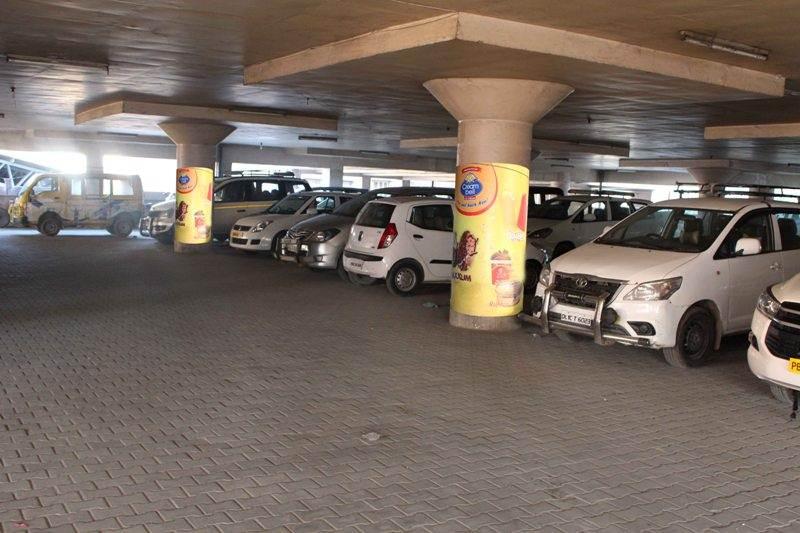Golden temple parking, Amritsar