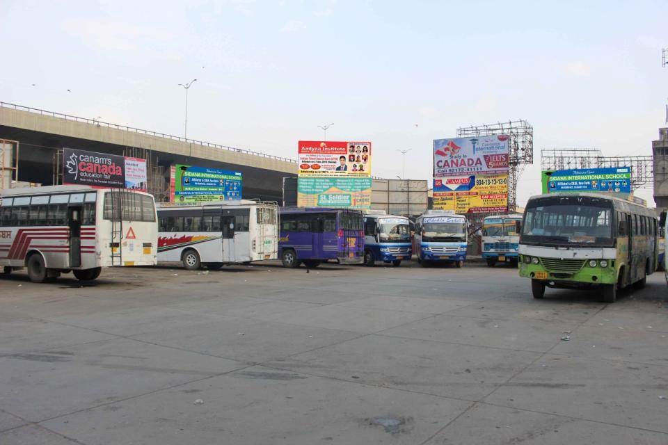 Inside Bus Stand, Amritsar