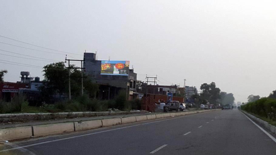 Wagha border road, Amritsar