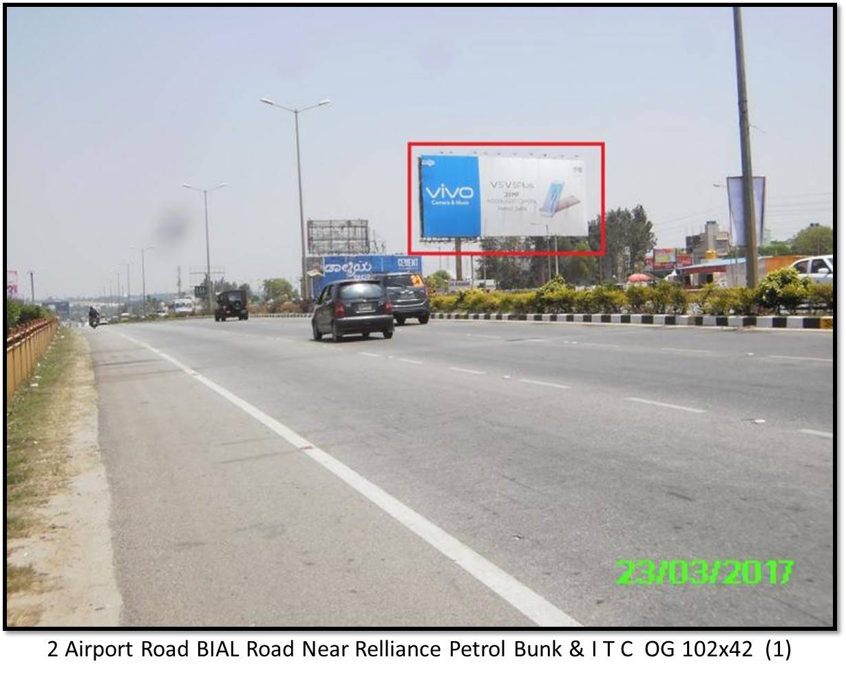 Airport Road BIAL Road Near Relliance Petrol Bunk & I T C, Bengaluru