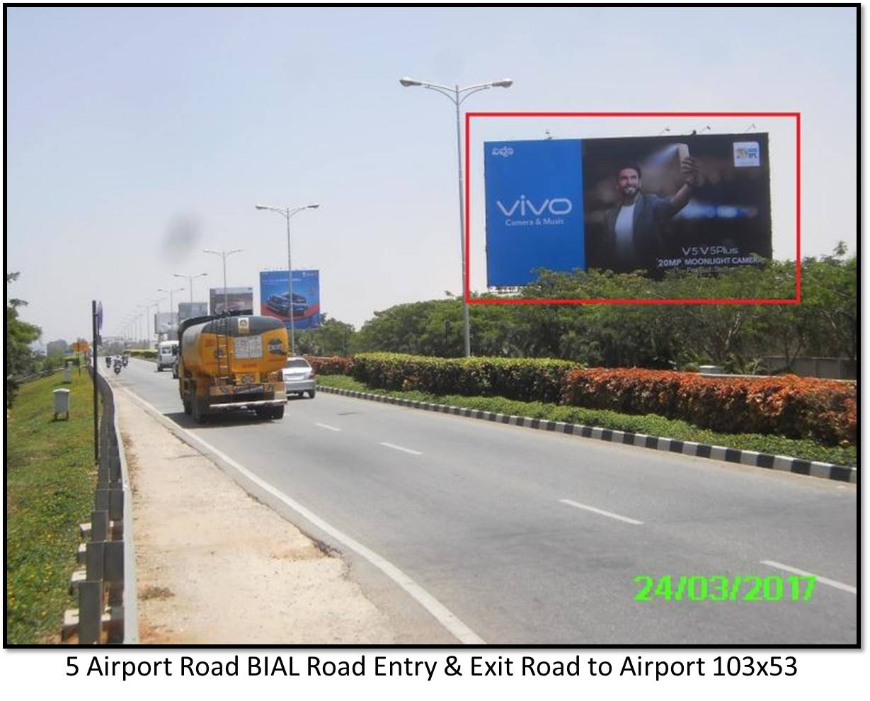 Airport Road BIAL Road Entry and Exit Road, Bengaluru