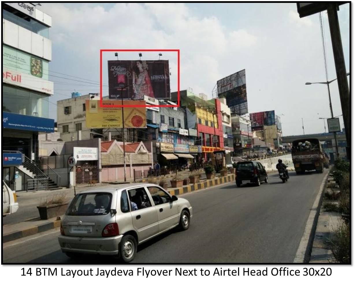BTM Layout Jaydeva Flyover Next to Airtel Head Office, Bengaluru