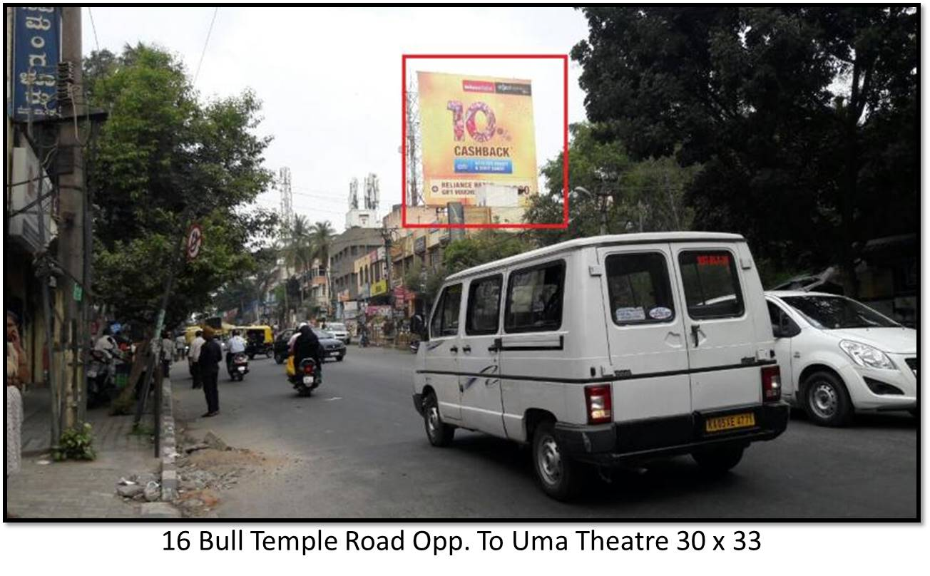 Bull Temple Road Opp. To Uma Theatre, Bengaluru