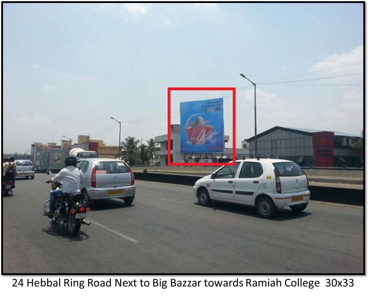 Hebbal Ring Road Next to Big Bazzar, Bengaluru