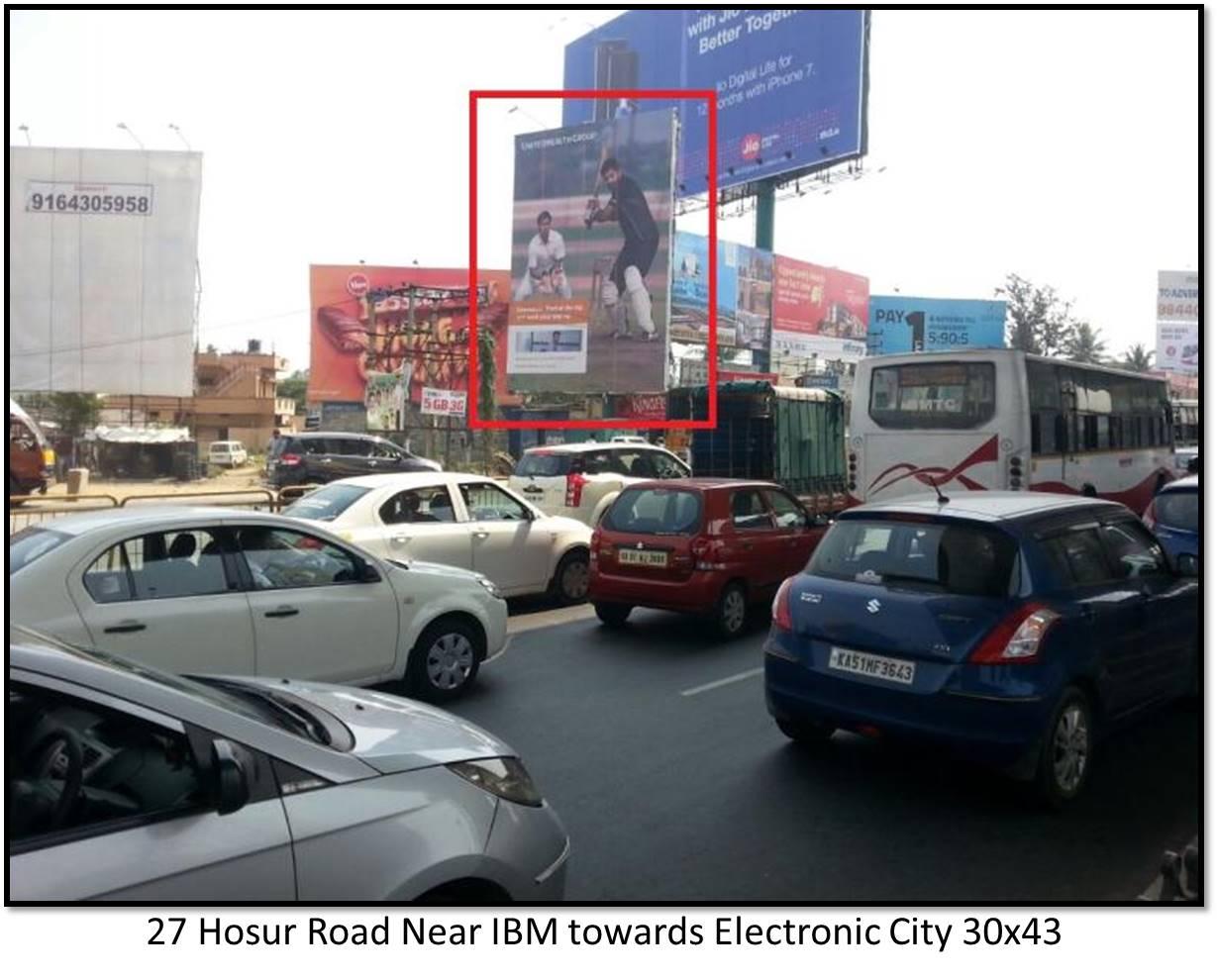 Hosur Road Near IBM, Bengaluru