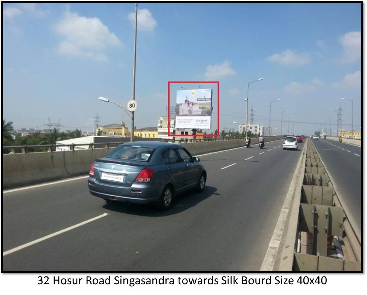 Hosur Road Singasandra, Bengaluru