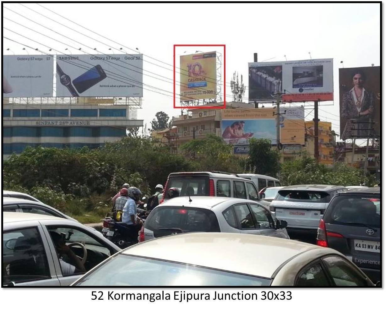 Kormangala Ejipura Junction, Bengaluru