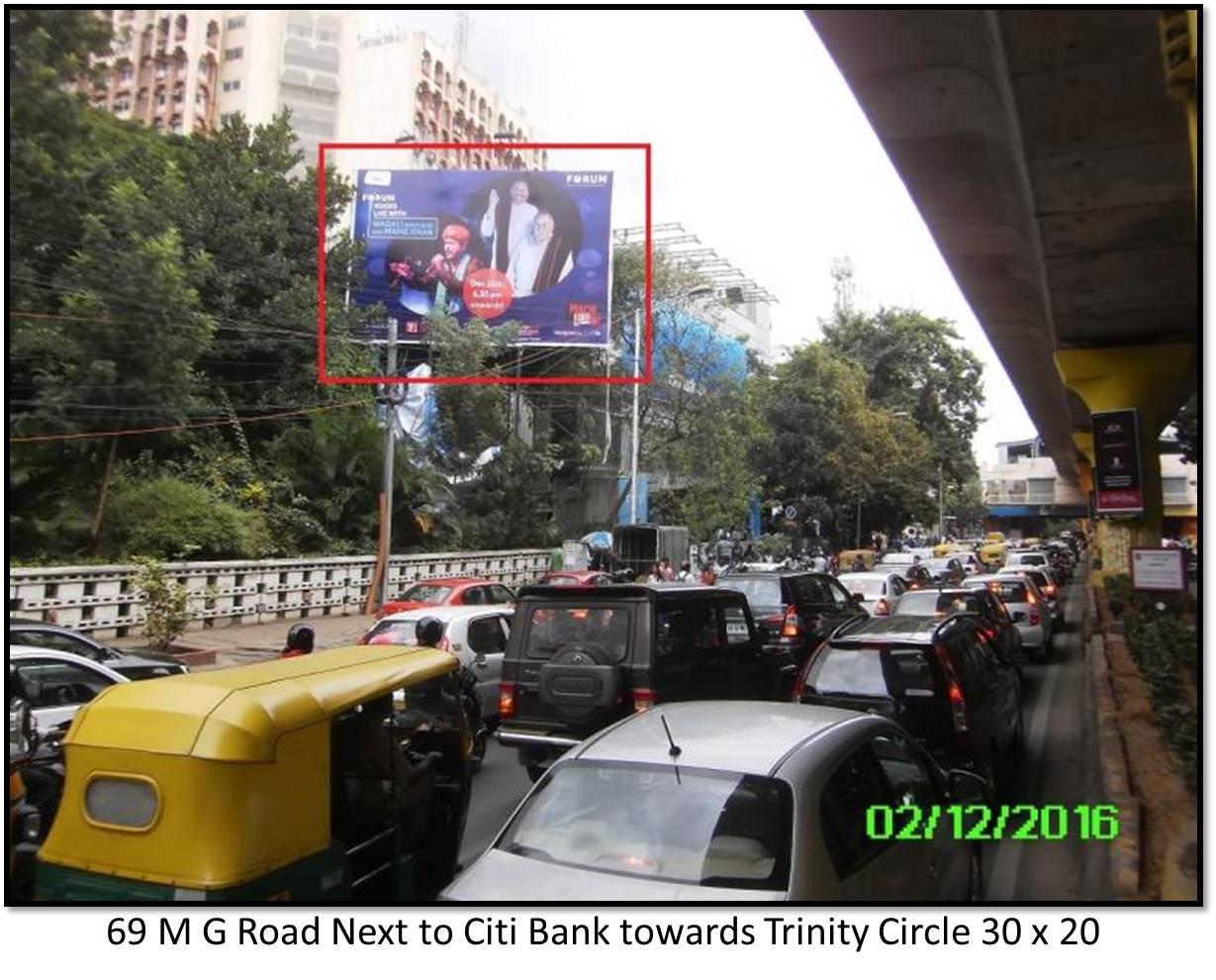 M G Road Next to Citi Bank, Bengaluru
